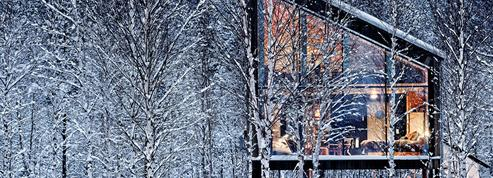 Laponie suédoise : visite en avant-première de l'hôtel Arctic Bath