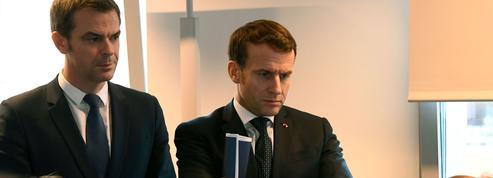 Sondage: Macron sort de la zone rouge