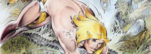 Hommage à André Chéret, dessinateur du Tarzan à la française