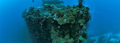 En Micronésie, plongée dans l'empire des épaves