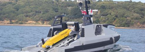Un drone pour neutraliser les mines sous-marines