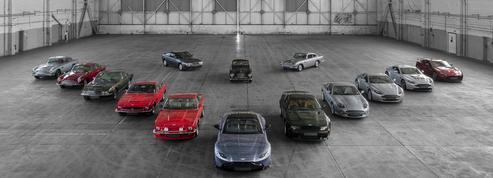 Aston Martin célèbre sept décennies de Vantage