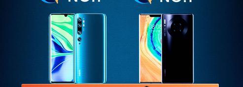 Huawei et Xiaomi, sur le pied de guerre