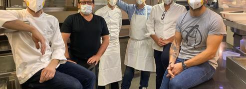 Coronavirus: les chefs étoilés du George V cuisinent pour l'hôpital Robert Debré