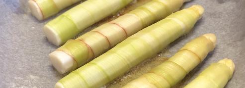 La recette des asperges «enrhubarbées» d'Alain Passard