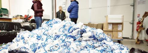Le recyclage des masques sanitaires toujours à l'étude