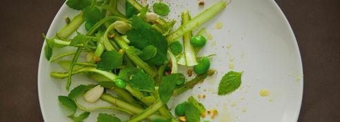 La recette de l'asperge pistache de David Toutain