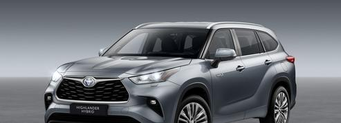 Toyota Highlander, un SUV hybride 7 places