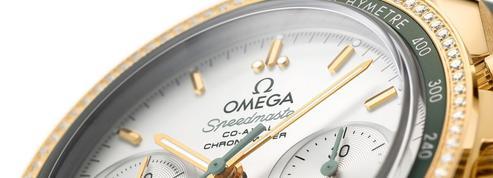 Omega dévoile deux nouvelles Speedmaster en or 18 carats
