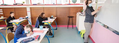 À l'école Camille-Magné, dans l'Essonne, rien n'est plus comme avant