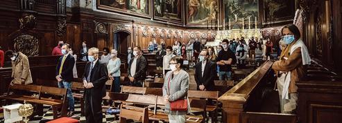 Première messe de déconfinement à Paris