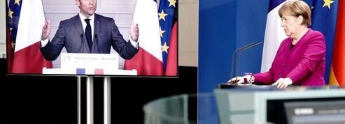 Plan de relance européen: le pari allemand d'Emmanuel Macron