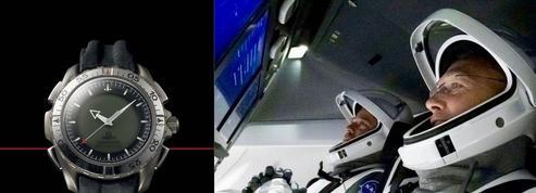 Une montre martienne pour le premier vol habité SpaceX vers l'ISS