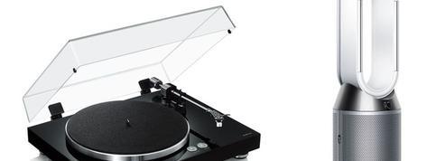 Platine vinyle connectée Yamaha, purificateur d'air Dyson: deux idées high-tech pour la fête des pères