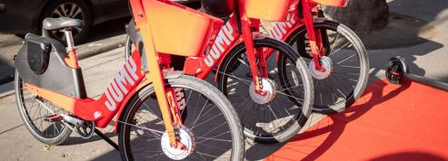 Les vélos électriques Jump quittent Paris
