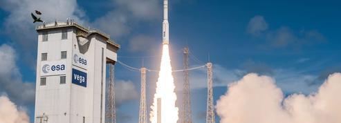 L'Europe lance sa première fusée multisatellite