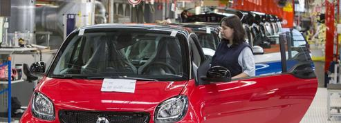Daimler tire un trait sur l'usine fabricant les emblématiques Smart en Moselle
