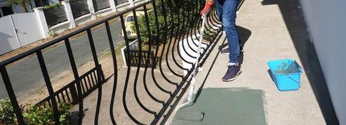 Repeindre le sol de son balcon