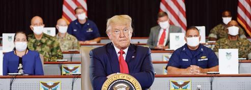 Le candidat Trump cherche à rebondir