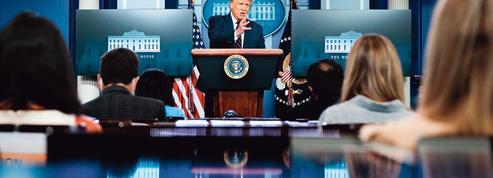 Covid: Donald Trump découvre la réalité de la pandémie
