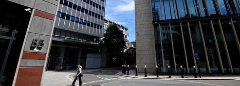 À Londres, la pandémie de Covid-19 met la City à l'arrêt
