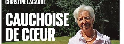 Christine Lagarde, des marchés financiers au marché d'Yvetot en Nomandie