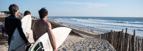 La côte landaise surfe sur une nouvelle vague detouristes français