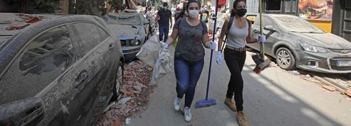 Liban: l'entraide beyrouthine s'organise autour des sinistrés