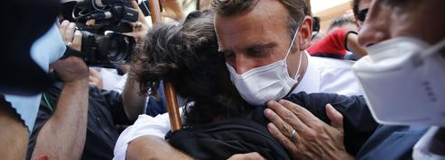 Notre reportage avec Emmanuel Macron, au chevet d'un Liban meurtri