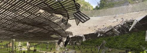 Dégâts majeurs sur le radiotélescope géant d'Arecibo