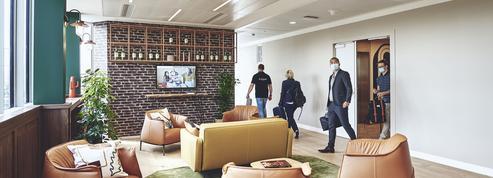 Flex office pour tous sur «The Island», le nouveau siège de Pernod Ricard