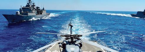Démonstration de force en Méditerranée orientale