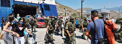 Méditerranée: la Grèce a déployé ses sous-marins et mis en alerte ses soldats