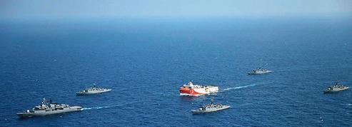 Tensions en Méditerranée: quand les Marines française et turque se toisent