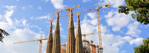 Le chantier de la Sagrada Familia prend du retard pour cause de Covid