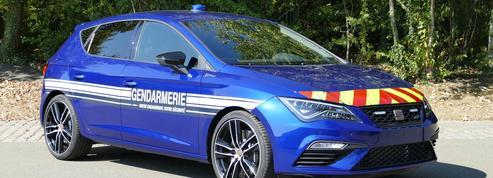 La Gendarmerie nationale choisit de rouler en Seat plutôt qu'en Renault Megane