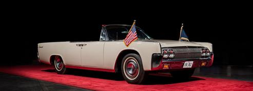 Plus de 300 000 € pour la Lincoln Convertible de Kennedy