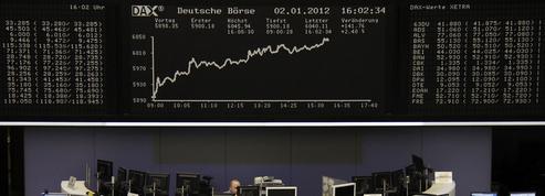 Le Dax de la Bourse de Francfort fait sa révolution