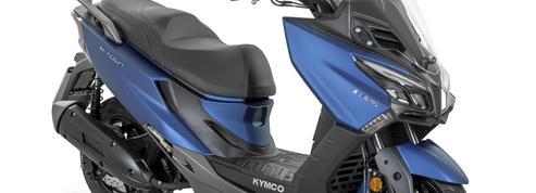 Kymco X-Town 125 City: les pieds dans le plat