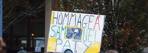 Assassinat de Samuel Paty: à Conflans, une marche blanche très suivie