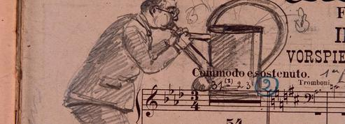 Les dess(e)ins cachés des musiciens de l'opéra