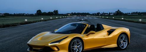 Ferrari F8 Spider, les sens en éveil