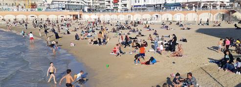 Reconfinement: eau à 20 °C, soleil et forte affluence sur les plages de Marseille