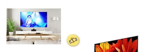 Le match : grand écran ou vidéoprojecteur ?