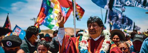 Le retour triomphal d'Evo Morales en Bolivie
