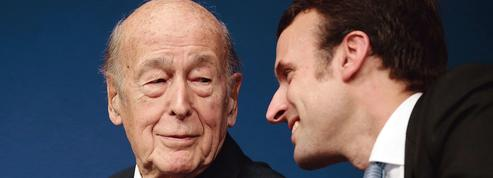 Emmanuel Macron-Valéry Giscard d'Estaing, si loin, si proches