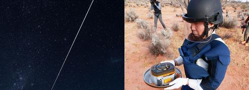 Une interminable étoile filante marque le succès du retour d'échantillons d'Hayabusa-2