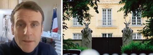Covid-19: Macron joue la transparence sur sa santé