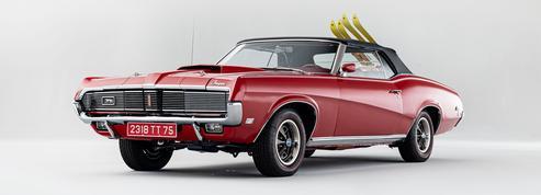 Mercury Cougar XR7 convertible, James Bond fait vendre