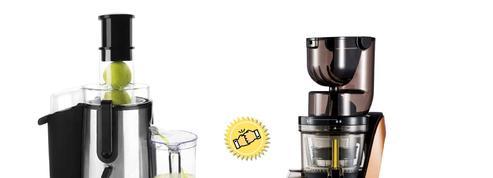 Le match : centrifugeuse ou extracteur de jus?